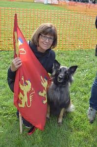 Ilka au GP d'Obéissance Club d'éducation canine de SOURZAC (24) Dordogne