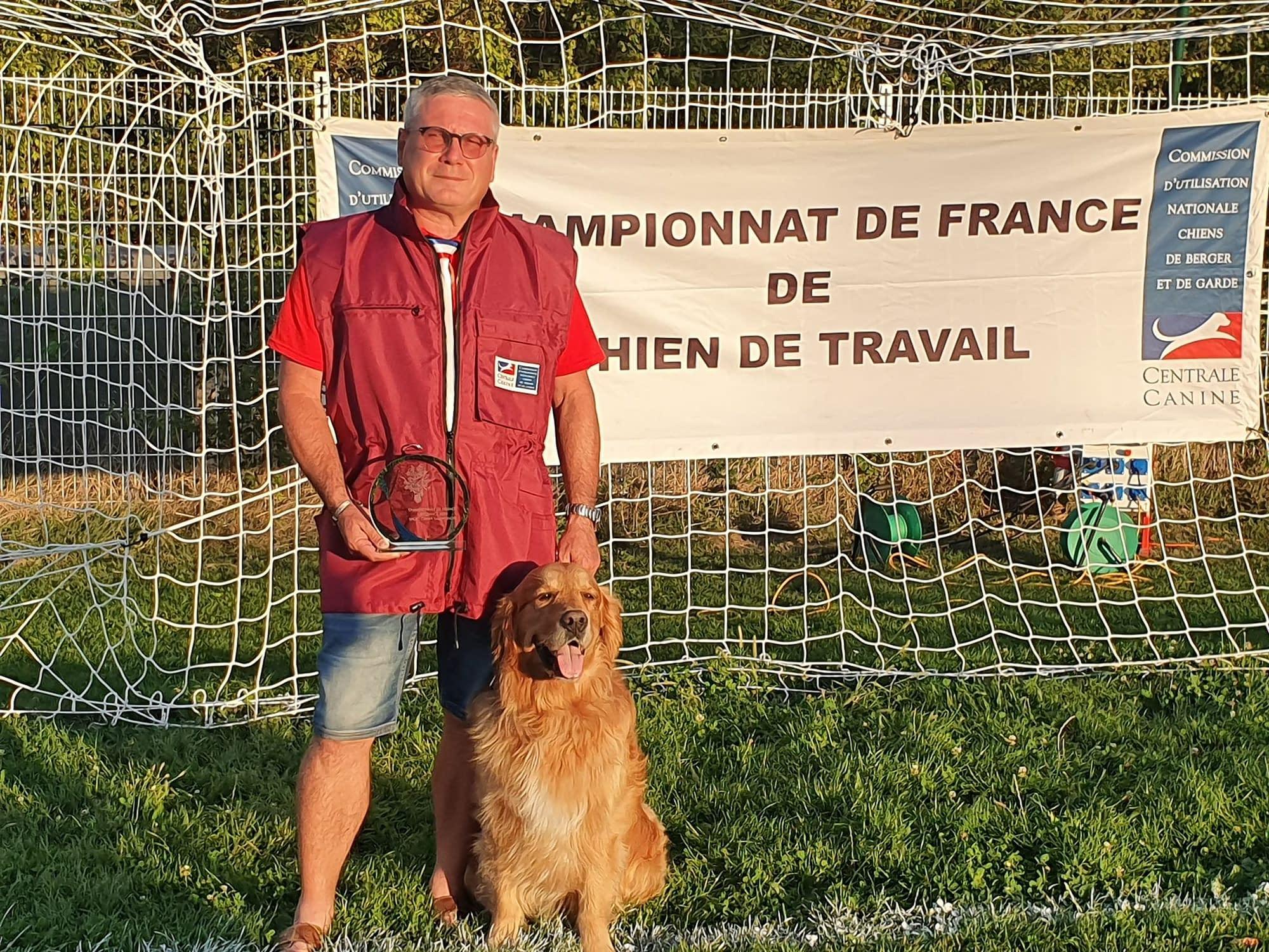 Un bien beau résultat !!! Club d'éducation canine de SOURZAC (24) Dordogne