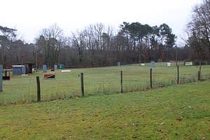 Terrain du club d'éducation canine de Sourzac en Dordogne