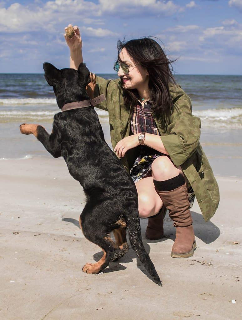 Complicité avec son chien